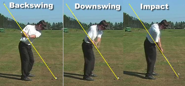 ゴルフ 正しいバックスイングの練習法