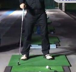 体が硬い!手打ちのゴルフスイング矯正法