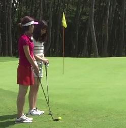 ゴルフ ランニングアプローチのコツ、エッジからの寄せ方