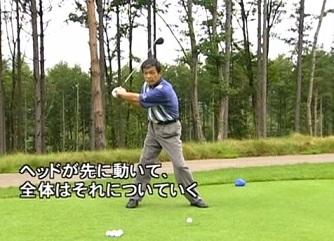 ゴルフ 正しいトップの位置