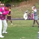 アイアンのダフり防止に綱引き練習法